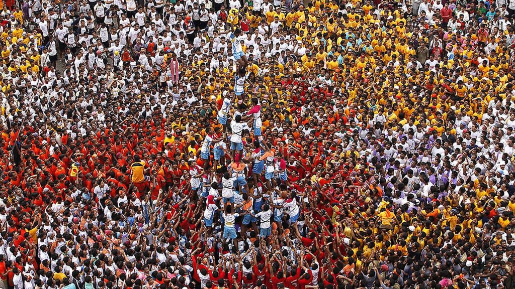 Dahi- Handi celebrations