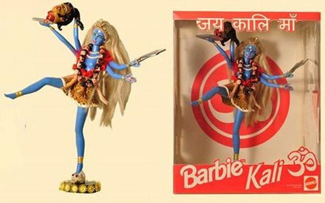 Barbie-doll-as-goddess-Kali