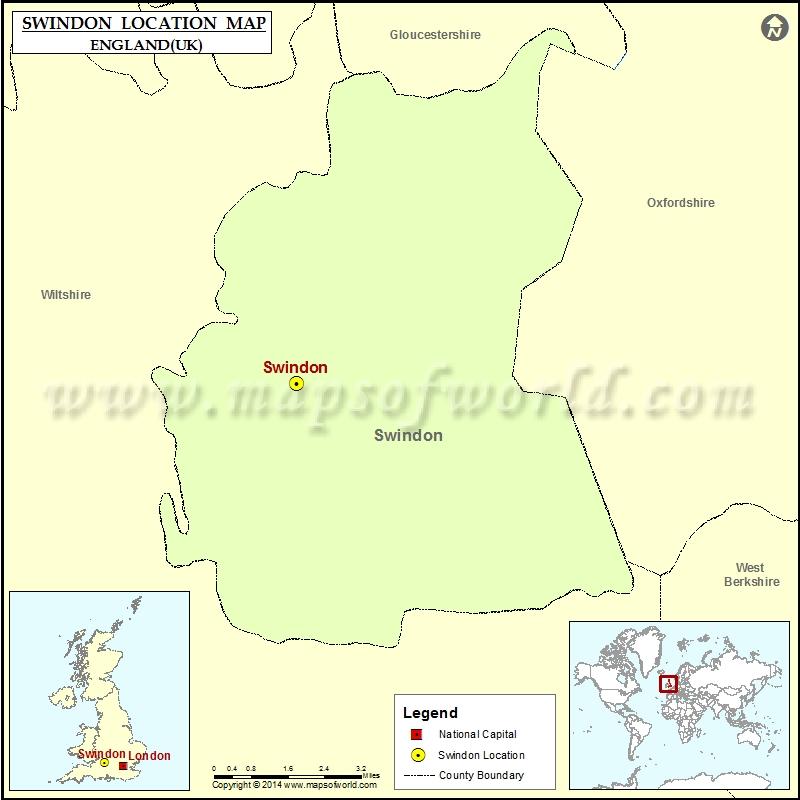 swindon-location-map