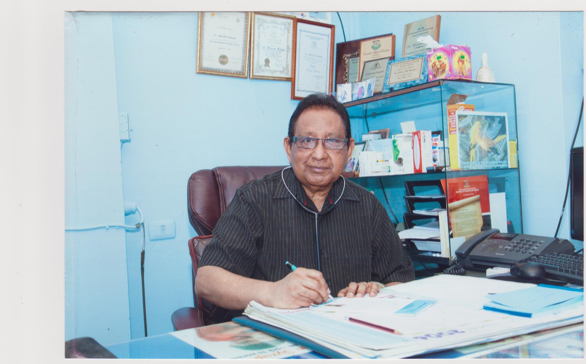 Dr Clifford Rampaul– A passionate Hindu religious ,social activist passes away