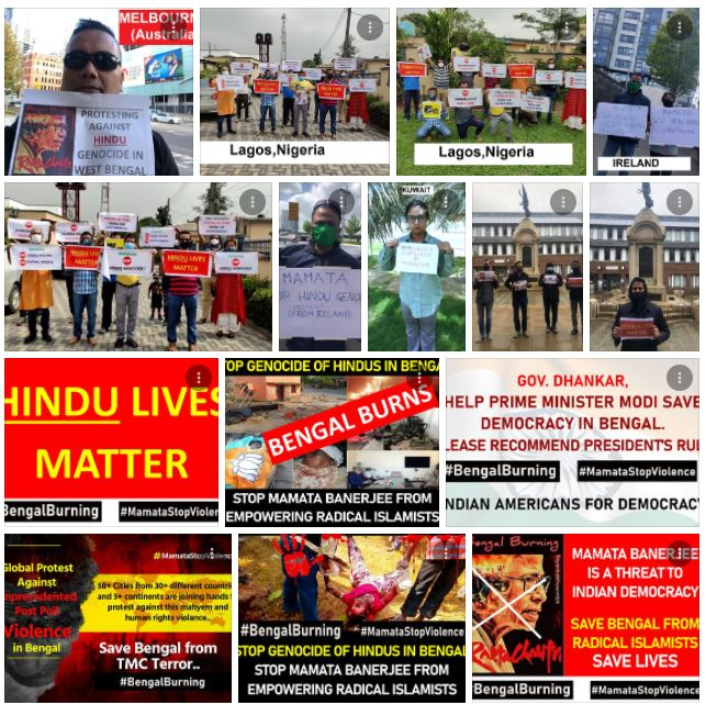 50 cities, 30 nations and 5 continents- Hindus unite to save community members from genocide in West Bengal